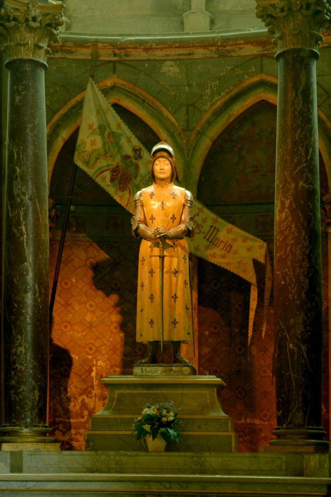 Sainte Joan d'Arc Reims Cathedral