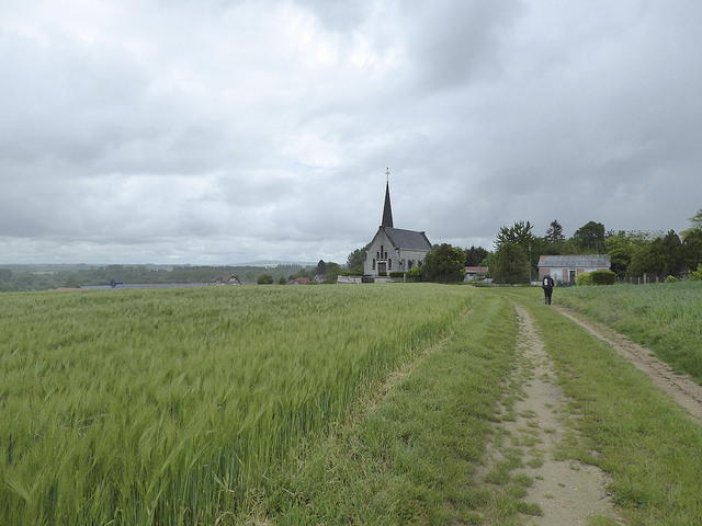 Leaving Corbeny towards Reims