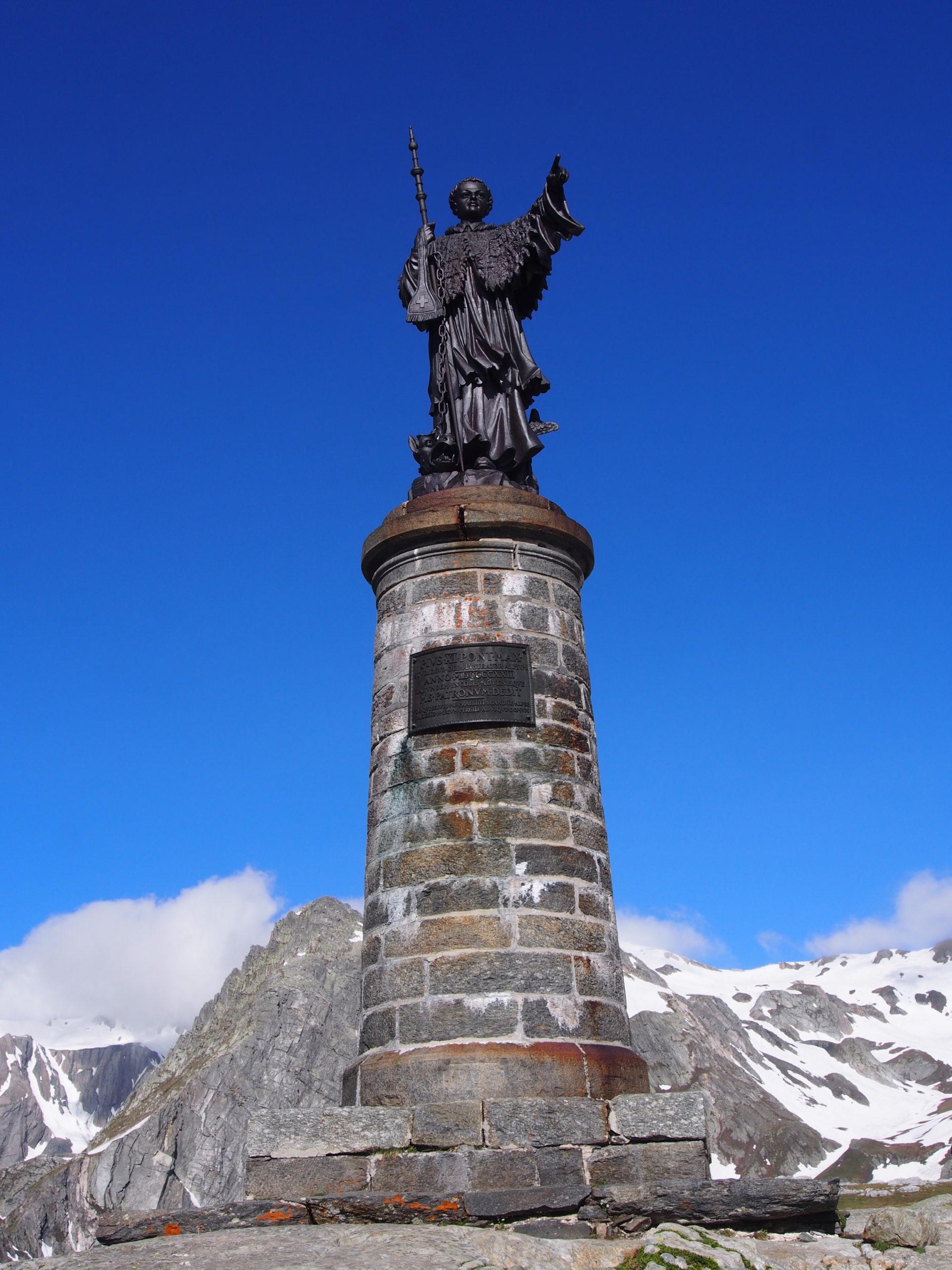 St Bernard on the St Bernard Pass