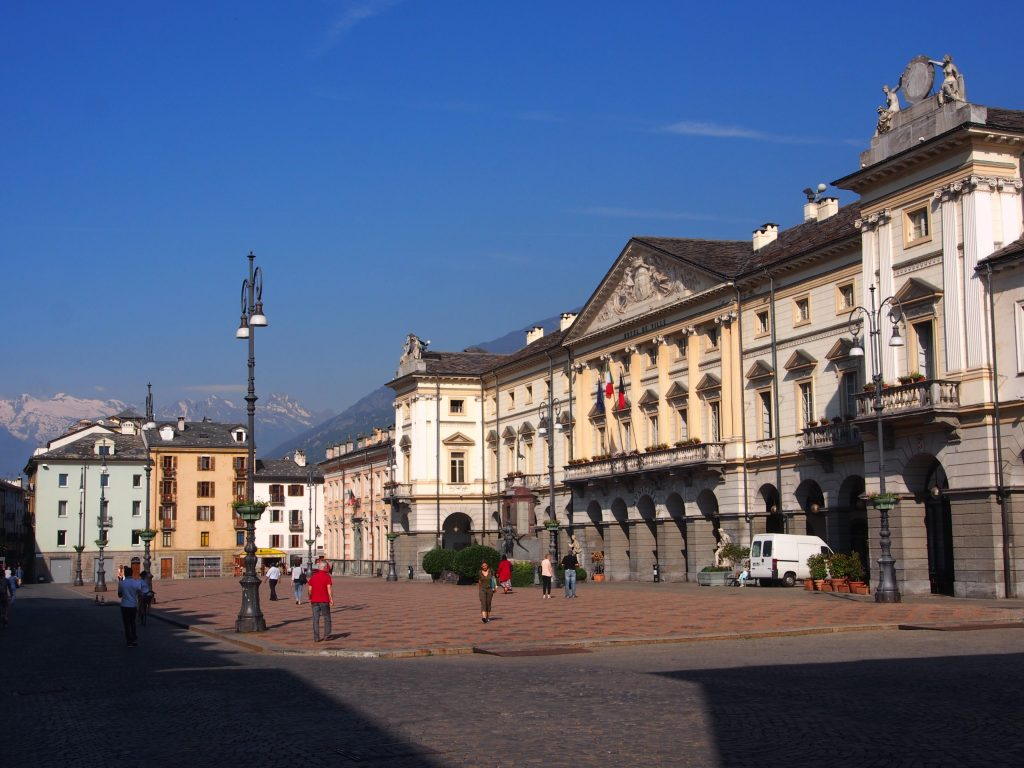 Main Square in Aosta
