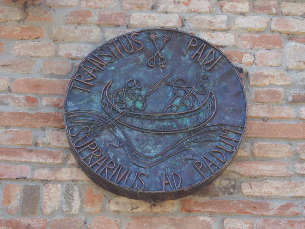 Plaque on Danilo's house