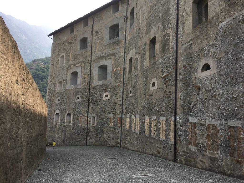Bard Castle battlements