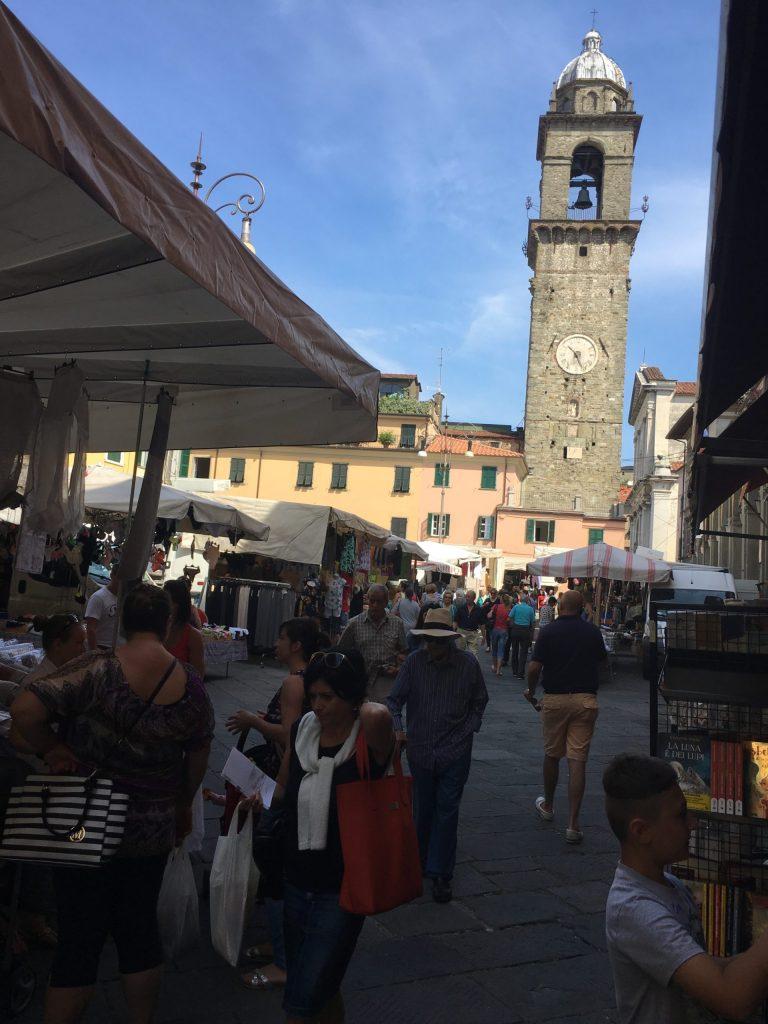 Market day in Pontremoli