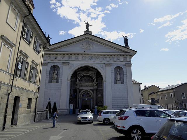 The Cathedral in Aosta Santa Maria Assunta
