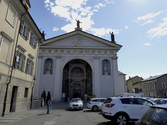 The Cathedral in Aosta Santa Maria Assunta