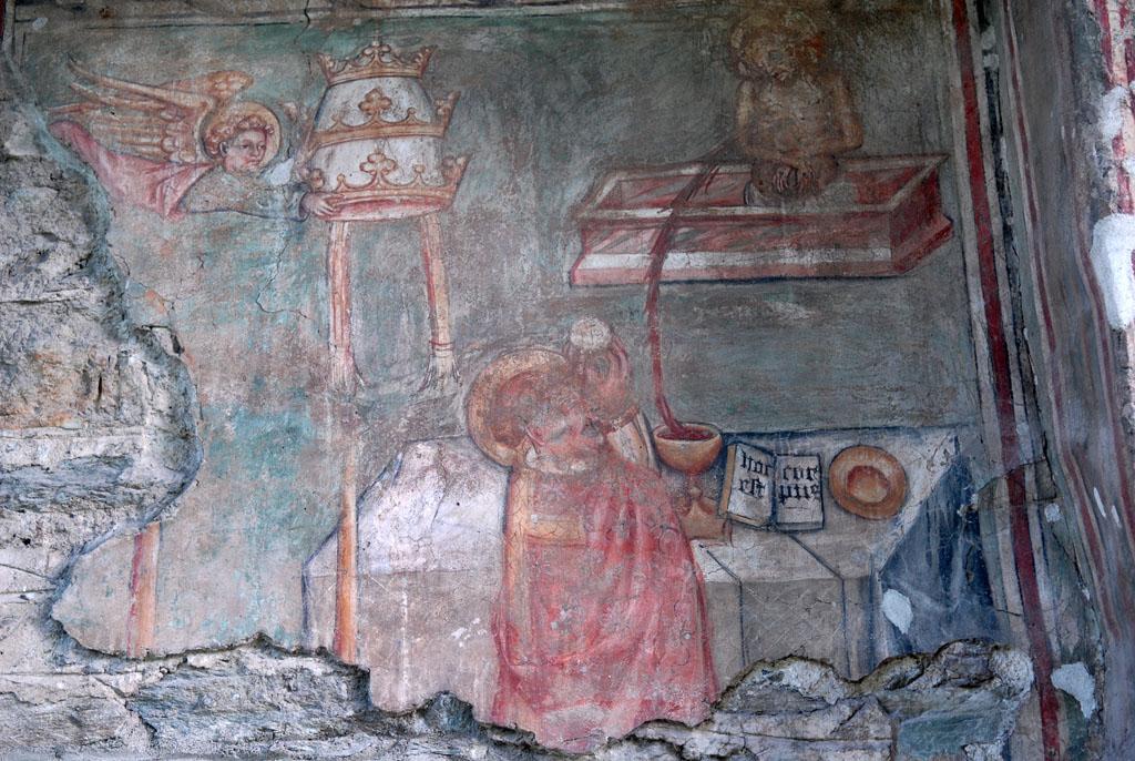Fresco in the Arnad church