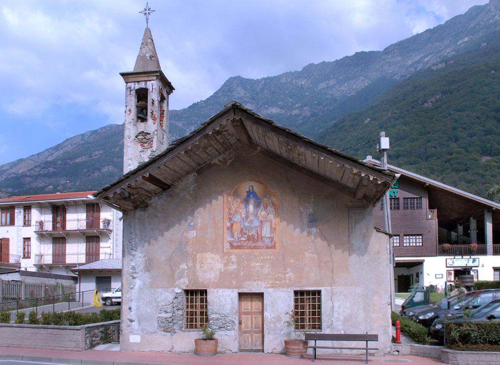 Church of San Rocco nr Pont St Martin
