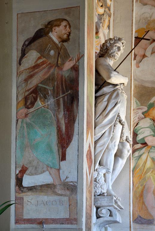 St James, Chapel at Madonna Del Campo