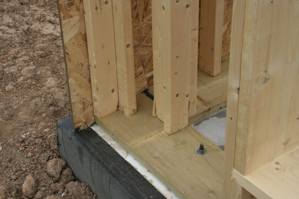 Double Stud Wall Framing in Corner