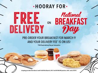 mcdo free delivery
