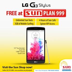 G3 Stylus with Sun