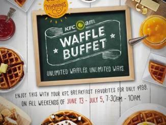 KFC Waffle Buffet