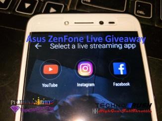 Asus Zenfone Live Giveaway