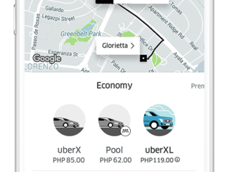 uberXL 6 seaters