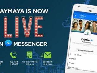 Paymaya Facebook Messenger