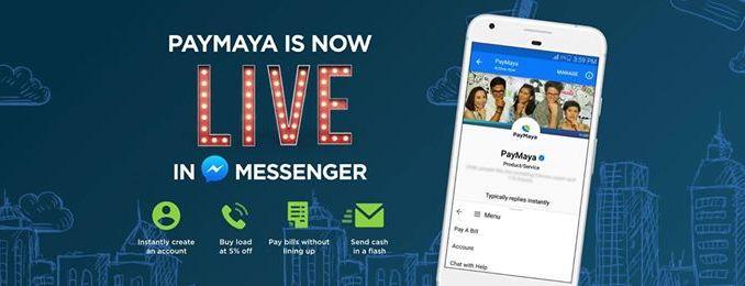 Paymaya Facebook Messenger