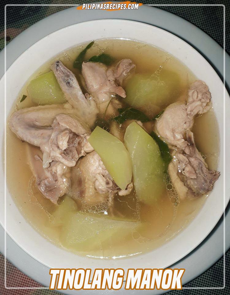 Tinolang Manok Recipe (Chicken Tinola) - Pilipinas Recipes