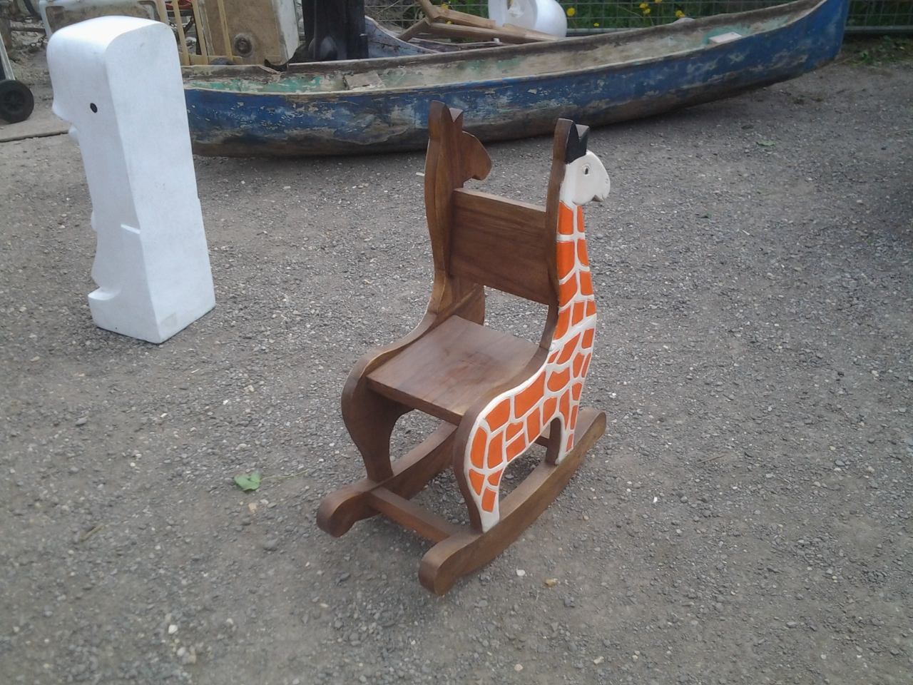Giraffe Rocking Chair Child 39s Giraffe Rocking Chair Shop Antiques Stripped