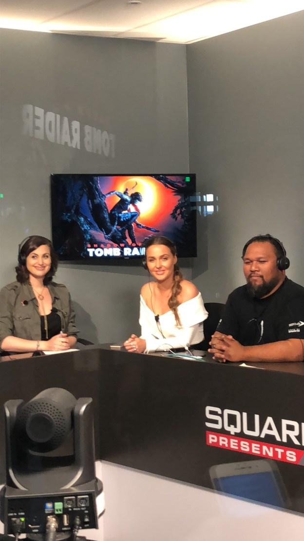 Meagan Marie, Camilla Luddigton et Earl Baylon en interview.