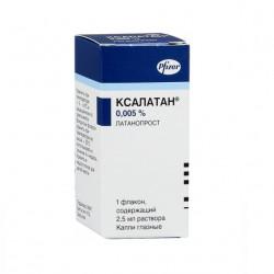 Xalatan eye drops bottle 0.005% 2.5 ml №3