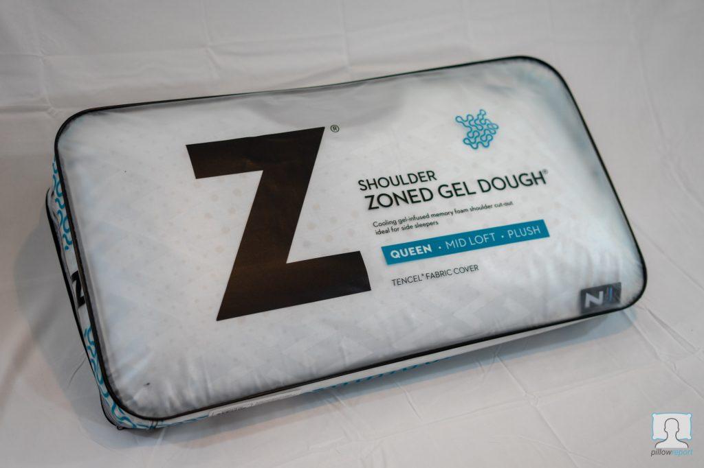 malouf z shoulder zoned dough pillow