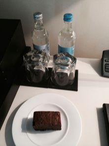 Water & Welcome Brownie