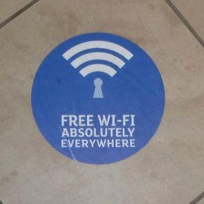 Rubbish free WiFi