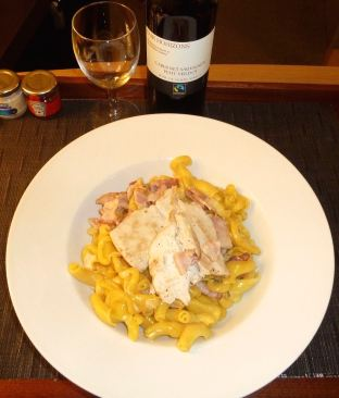 Carbonara with Chicken