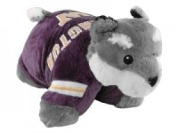 Washington Huskies Pillow Pets - Harry the Husky Pillow ...