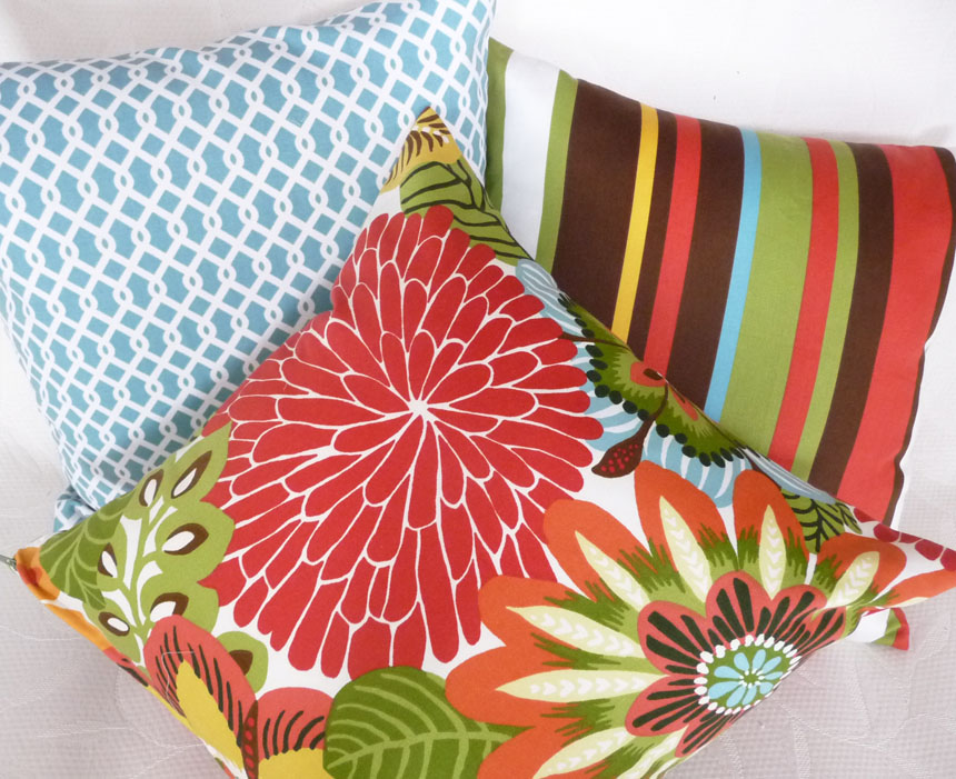 Cheap Pillows For Inexpensive Spring Makeovers