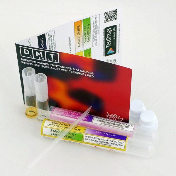 DMT Dual Reagent Test Kit (2 tests)