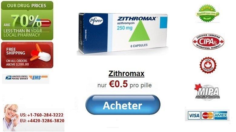 Acheter Zithromax Azithromycine en ligne sans ordonnance