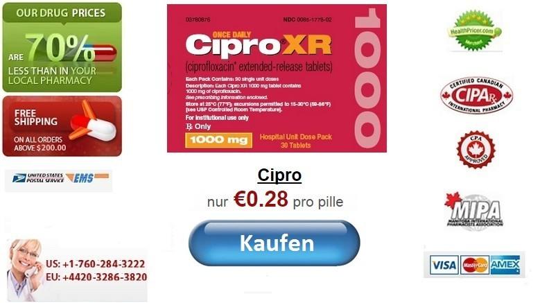 Cipro ciprofloxacin online ohne rezept kaufen