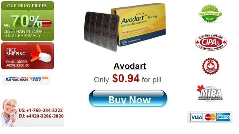 Buy Avodart online without prescription