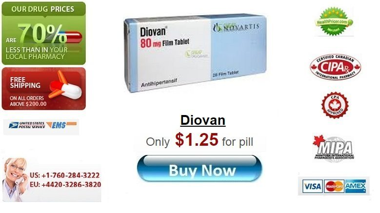 Buy Diovan online without prescription