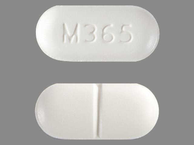 OVAL WHITE m365 Images - HYDROCODONE BITARTRATE AND ...