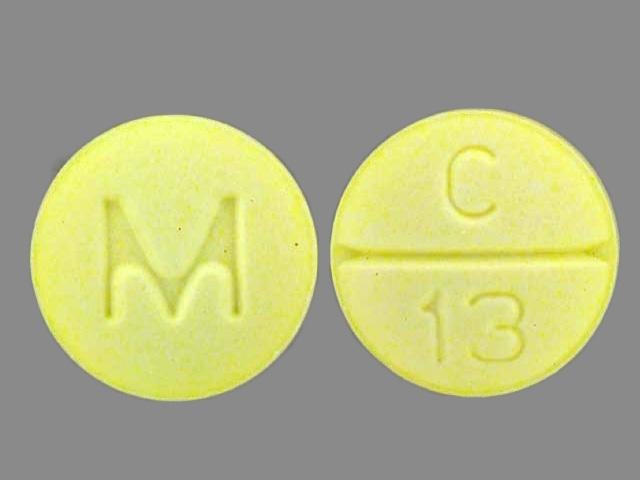 round yellow m c 13 Images - Clonazepam - clonazepam - NDC ...