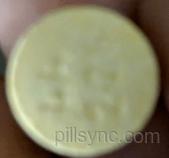 round yellow 44 226 Images - Alert Aid - caffeine - NDC ...