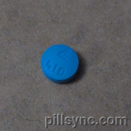 ROUND BLUE E 410 - bupropion hydrochloride tablet extended ...