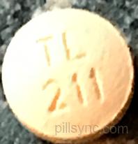 ROUND ORANGE TL 211 - Cyclobenzaprine Hydrochloride ...