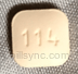 BROWN SQUARE I 114 - montelukast tablet film coated Pill ...