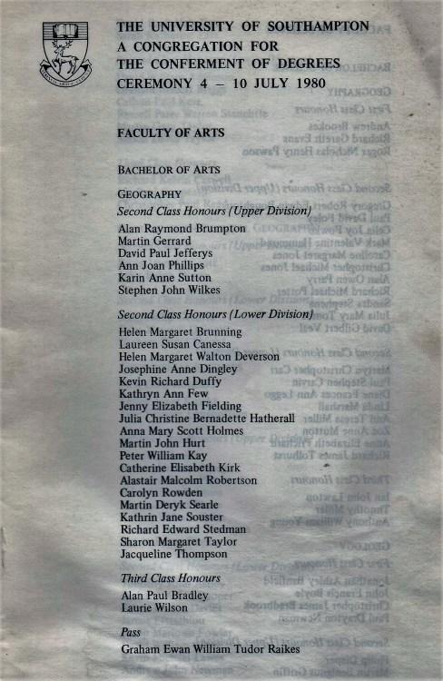 arts convoc 1980