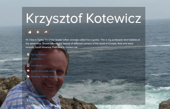 Krzysztof Kotewicz PILOT WYCIECZEK