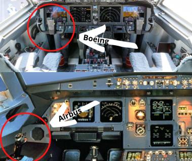 Airbus vs Boeing Cockpit
