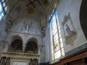 Chapel in Chantilly Chateau