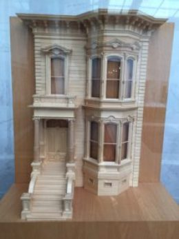 Victorian Era Home Model