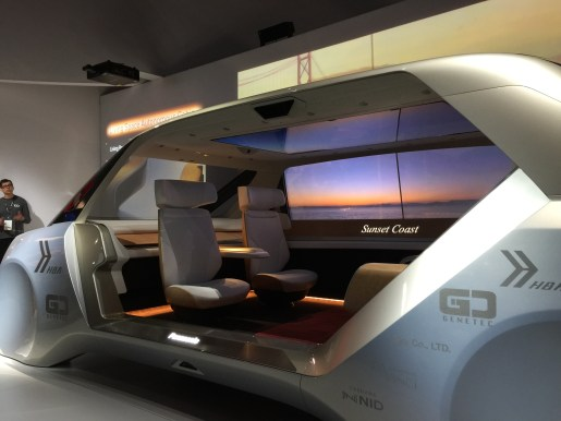 Living Space Autonomous Cabin (vehicle of the not too distant future)