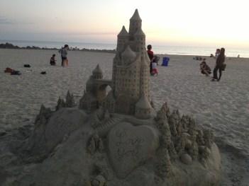Sand Castle in Coronado
