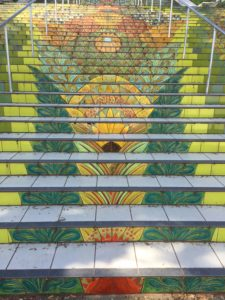 Lincoln Park Tile Steps