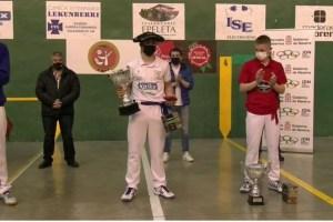 Arai Murillo campeón Guillermo Mazo 2021